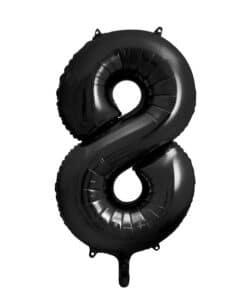 Ballon géant chiffre 8