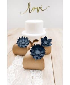 Msc deco fleur bleu